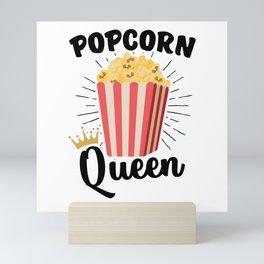 Popcorn Queen Mini Art Print