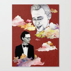 Cloud, Smoke Canvas Print