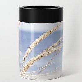 Beach Grass Blue Photography, Coastal Ocean Landscape, Sea Seashore Seascape Shore Can Cooler
