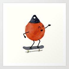 Skater Buoy Art Print
