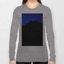 moon night, Jaisalmer, Rajasthan, India Long Sleeve T-shirt