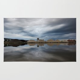 Storm Cloud Reflections Rug
