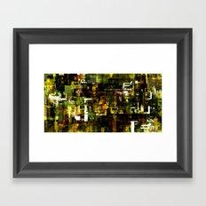 Grid Series Framed Art Print