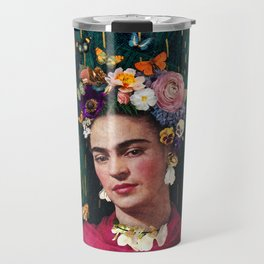 Frida Kahlo :: World Women's Day Travel Mug