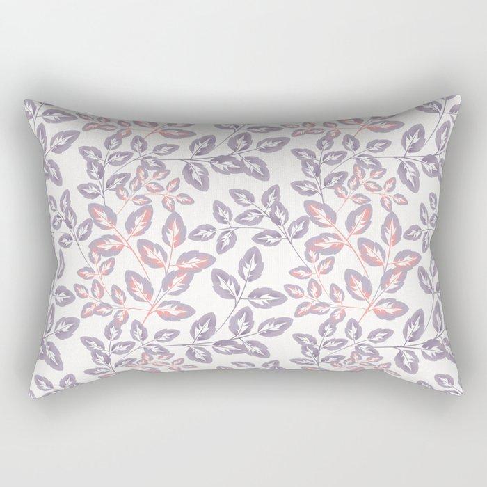 Delicate sprigs. Rectangular Pillow