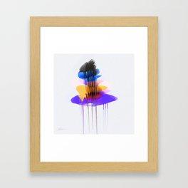 Rocks - (signed) Framed Art Print