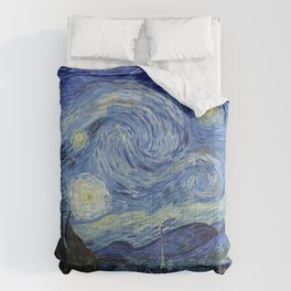 The Starry Night by Vincent van Gogh Comforters