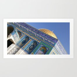The Dome of the Rock Art Print