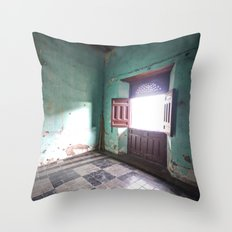 There will be a light Throw Pillow