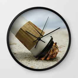 Hermit Coffee Wall Clock
