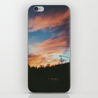 korean iPhone & iPod Skins featuring KOREAN SUNSET by aphrosidiac