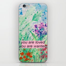 You Are Wanted iPhone Skin