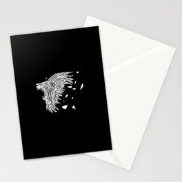 Black Leo Stationery Cards