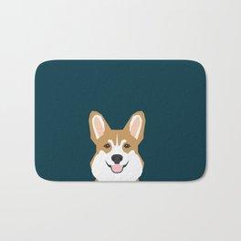 Teagan - Corgi Welsh Corgi gift phone case design for pet lovers and dog people Bath Mat