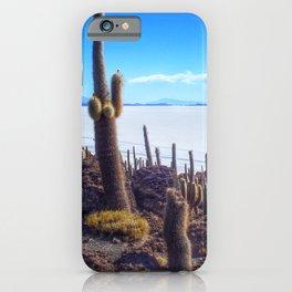 Salar de Uyuni in Bolivia iPhone Case