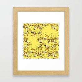 Honey Hive Framed Art Print