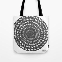 spiral 6 Tote Bag