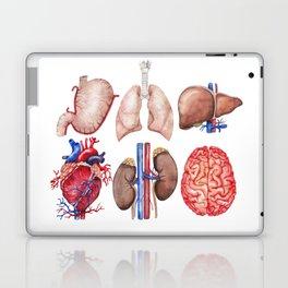 Watercolor organs Laptop & iPad Skin