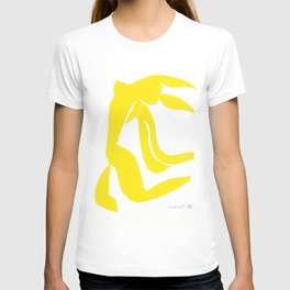 Henri Matisse, Jaune Freedom Nude  (Yellow Freedom Nude) lithograph modernism portrait painting T-shirt