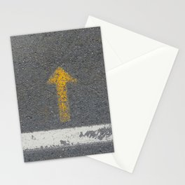 Up Road - This Way Up, for what ? Stationery Cards