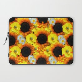 Sunflowers - Shades of yellow Laptop Sleeve