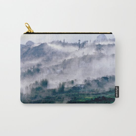 Foggy Mountain of Vietnam Carry-All Pouch