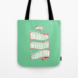 Inevitable Dream - Bright Tote Bag