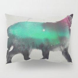 Fox In The Aurora Borealis Pillow Sham