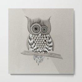 Rupert Owl Metal Print