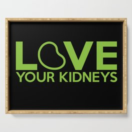Love Your Kidneys Serving Tray