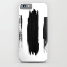 Black lines Slim Case iPhone 6