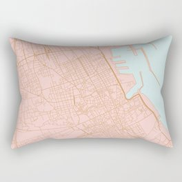 Palermo map Rectangular Pillow