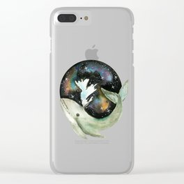 Galaxy Whale Clear iPhone Case