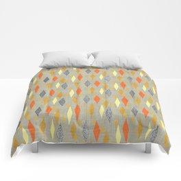Danish Diamond in Orange Multi Comforters