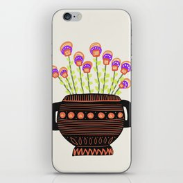 Floral vibes VIII iPhone Skin