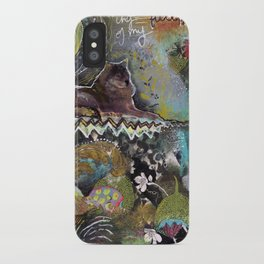 Full Moon River iPhone Case