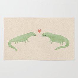 Lizard Love Rug
