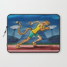 Olympic Runner Cheetah Laptop Sleeve