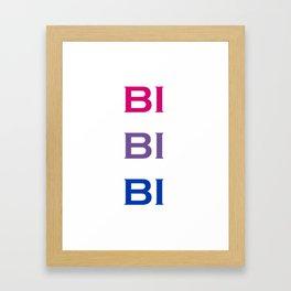 Bi Bi Bi Framed Art Print