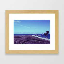 South Pointe Framed Art Print