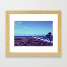 South Pointe Framed Art Print
