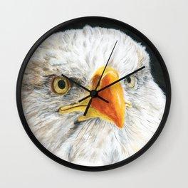 Bald Eagle by Teresa Thompson Wall Clock