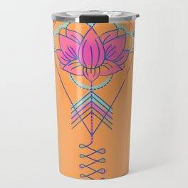 Symbol Art:  Lotus Magic Travel Mug