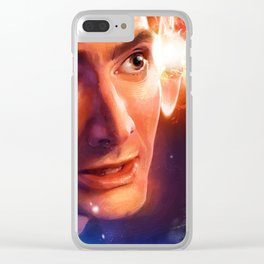 The Time Lord Victorious Clear iPhone Case