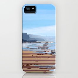 Jalama Beach Landscape iPhone Case
