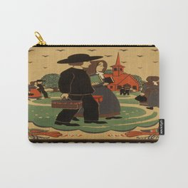 Vintage Travel Poster Carry-All Pouch