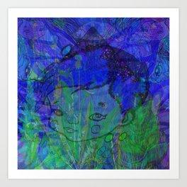 PYRAMID BOY Art Print