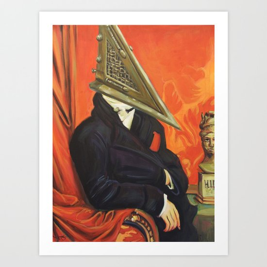 Baron Pyramid Head Art Print