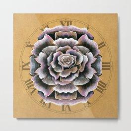 Sweet Pink Rose Metal Print