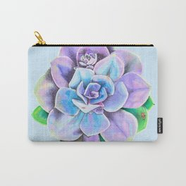 Succulent Bright Carry-All Pouch